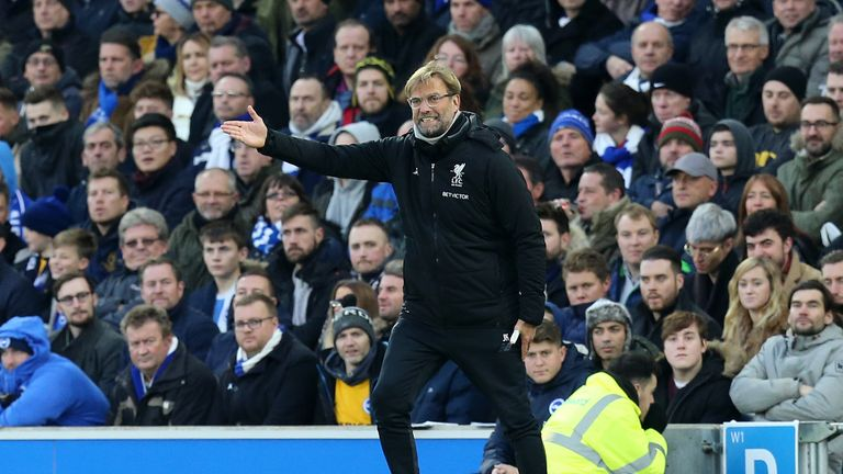 Liverpool have won five of their last six Premier League matches