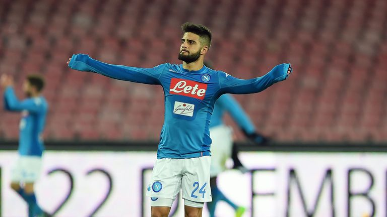 Lorenzo Insigne could be available for a potential bargain transfer this summer