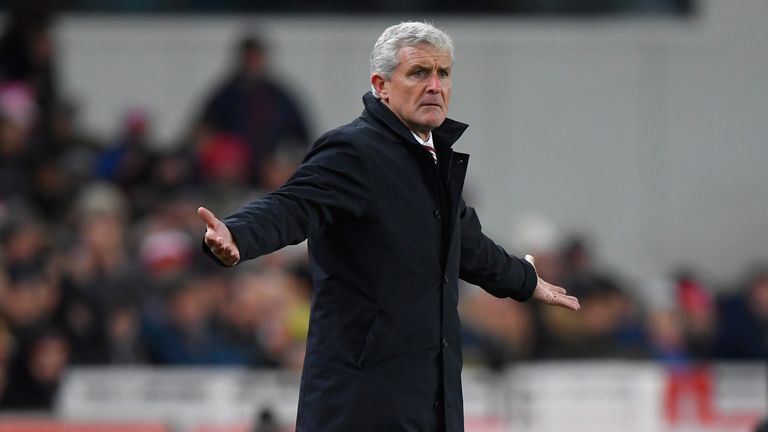 Stoke City manager Mark Hughes feels the jeers he got following defeat to Tottenham could be positive