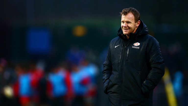 Saracens' Director of Rugby Mark McCall has welcomed the arrival of Stirzaker