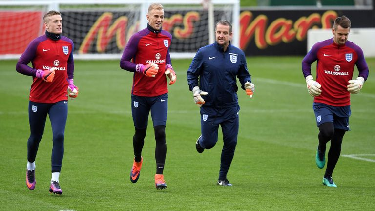 England goalkeeping coach Martyn Margetson worked with Jordan Pickford at Everton last season