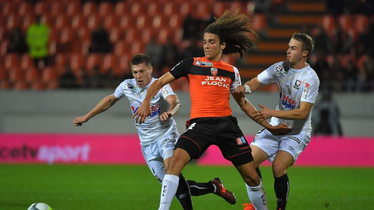 Matteo Guendouzi spent two years in the Lorient first team