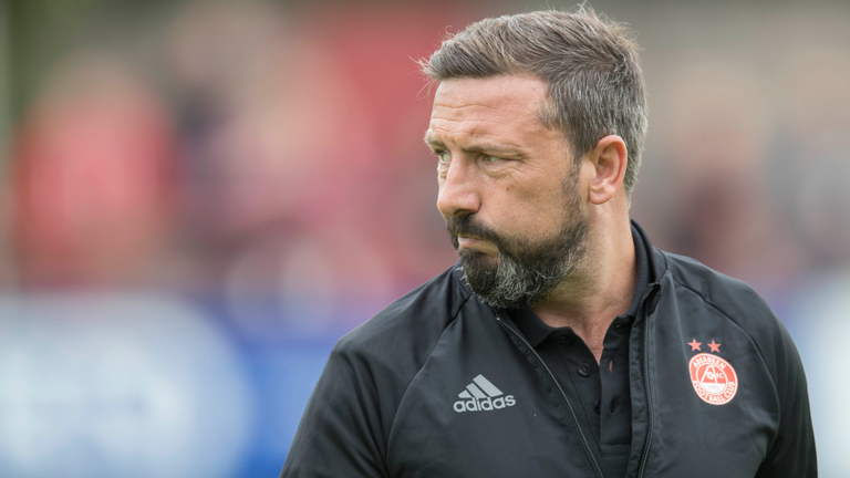 Aberdeen refused to allow Rangers permission to speak to Derek McInnes
