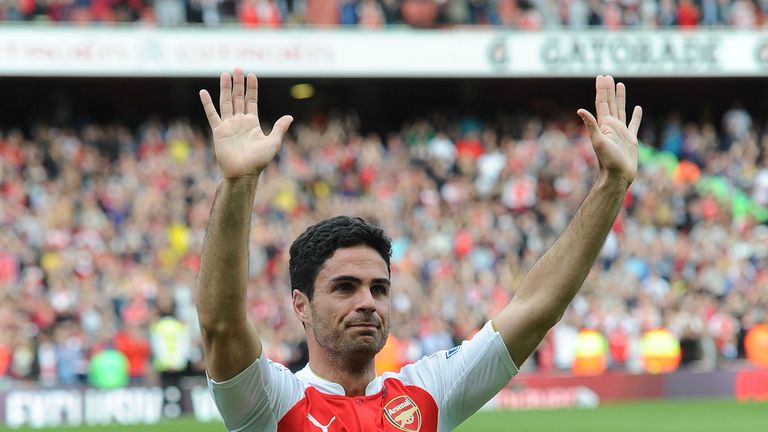 Mikel Arteta is the favourite to take over at Arsenal
