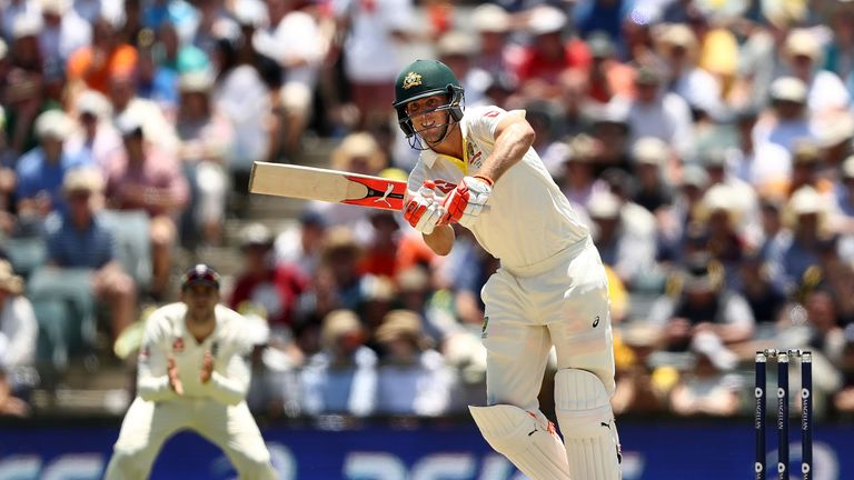 Marsh hit 181 in the Third Test at Perth to help Australia clinch an unassailable 3-0 lead