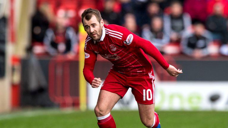 Niall McGinn is a doubt for Aberdeen