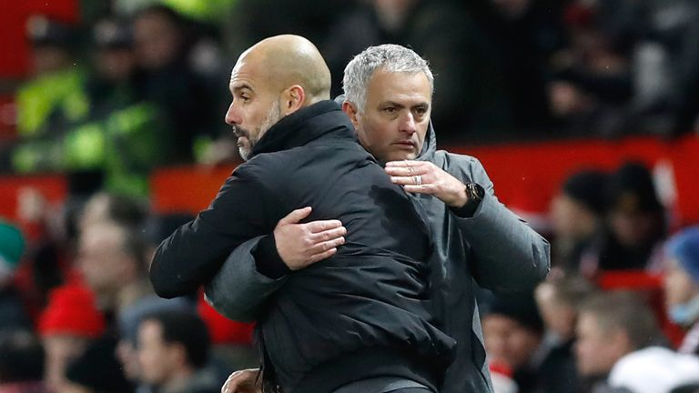 Mourinho warned Michael Oliver to expect 'tactical fouling' from Manchester City