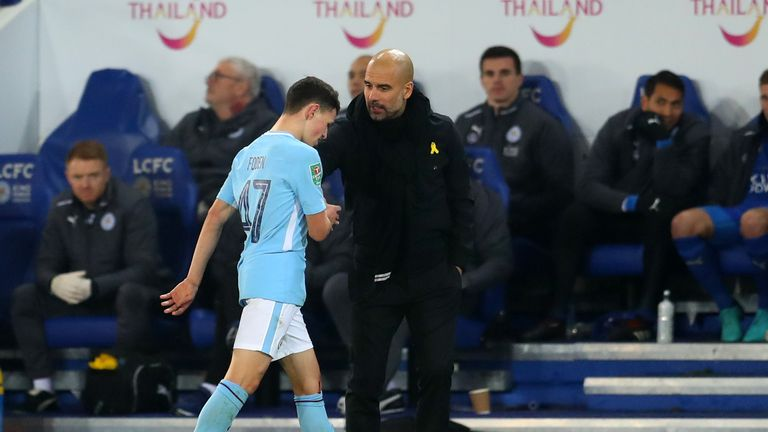 Pep Guardiola wants to tie Phil Foden to a long-term deal