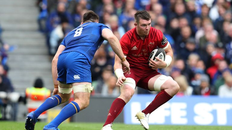 Peter O'Mahony's future with Munster remains in doubt