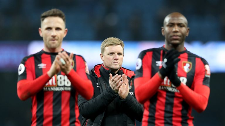 Eddie Howe: 'Bournemouth desperate for good form'