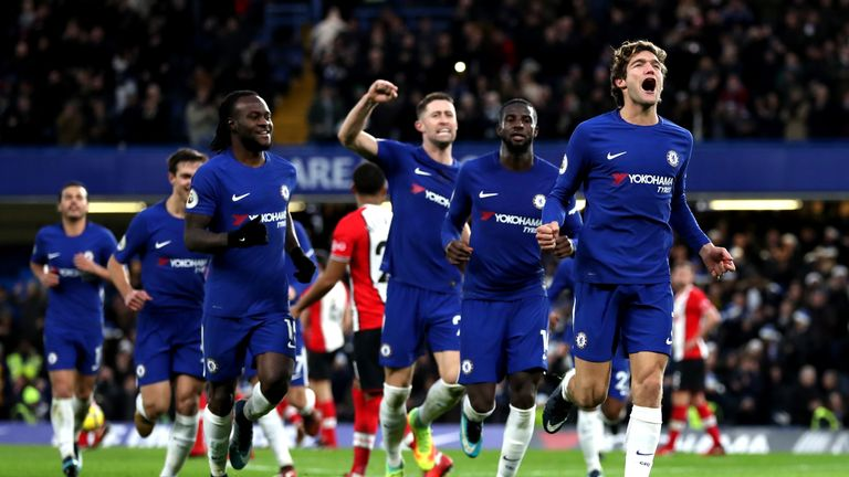 Does Marcos Alonso make it into your line-up?