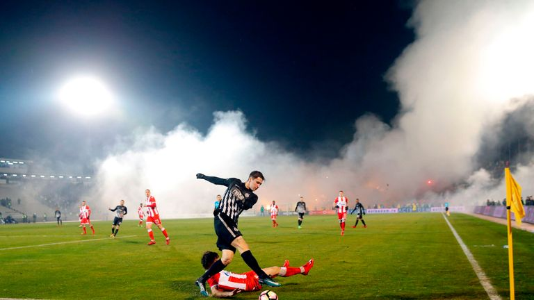 Partizan Fan Brawl at Derby vs. Red Star Ends With 26 Arrested