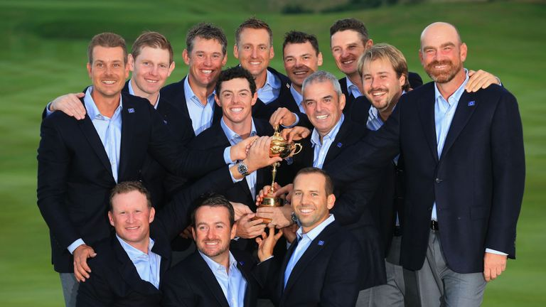 The 2014 Ryder Cup team