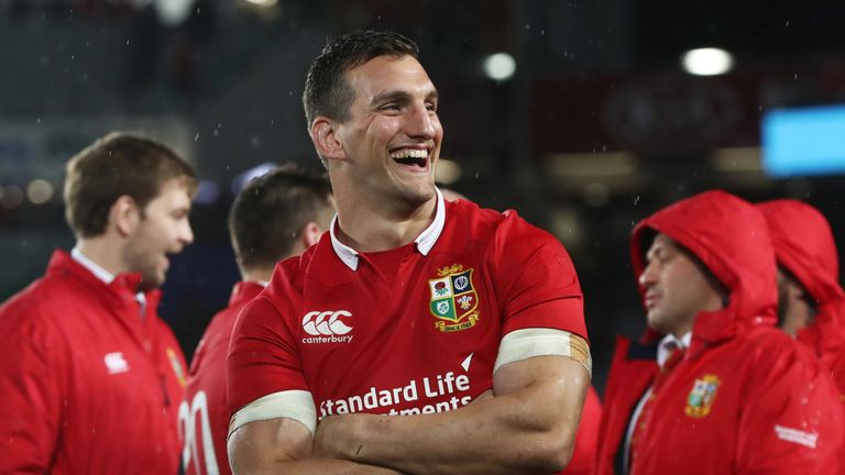 Sam Warburton has been awarded an OBE in the New Year Honours
