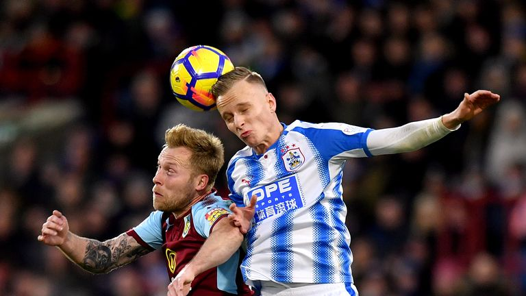 'Good chance' of Scott Arfield joining Rangers, says Burnley boss