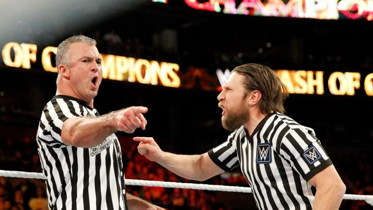 The closest Bryan has come to in-ring action was when he opposed Shane McMahon as joint referees at Clash of Champions