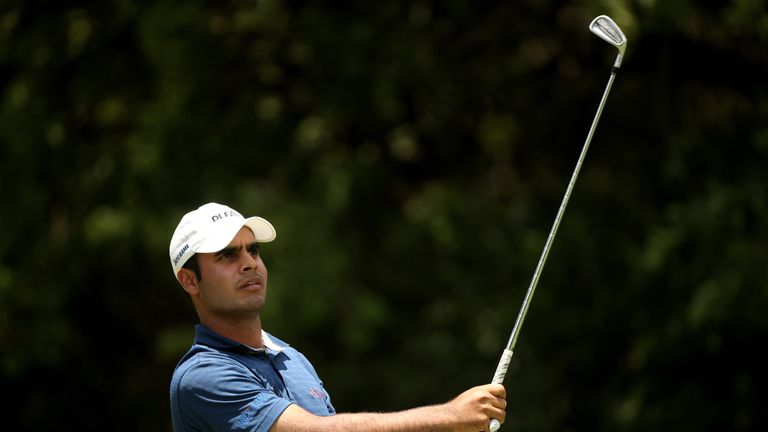 Shubhankar Sharma's bogey-free 65 puts him ahead at Joburg Open