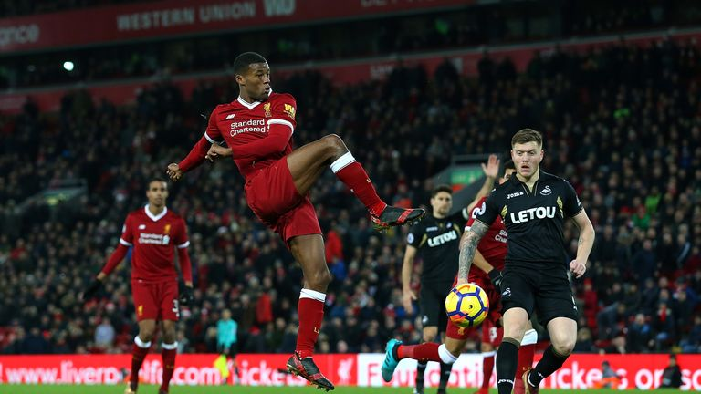 Liverpool travel to face Swansea on Monday, live on Sky Sports Premier League