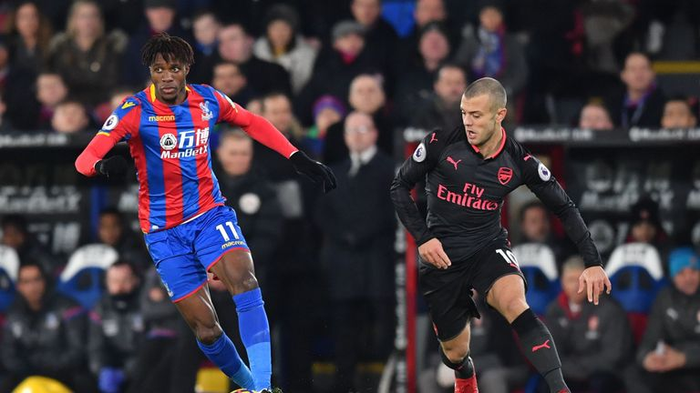 Hodgson does not believe Crystal Palace would be able to afford Wilshere should he become available