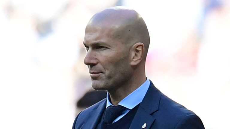 Zinedine Zidane says his new Real Madrid deal runs until 2020