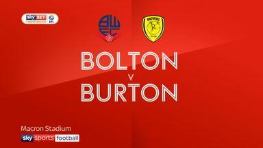 Bolton 0-1 Burton