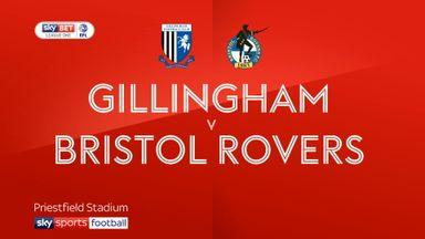Gillingham 4-1 Bristol Rovers