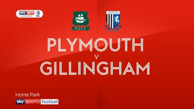 Plymouth 2-1 Gillingham