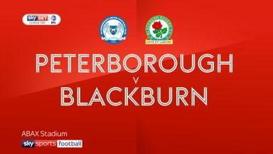 Peterborough 2-3 Blackburn