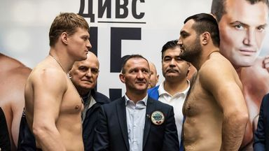 Alexander Povetin faces Christian Hammer this evening, live on Sky Sports (Picture courtesy of World of Boxing)