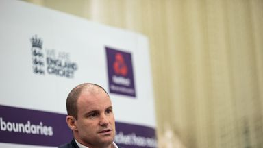Andrew Strauss has been England director of cricket since 2015