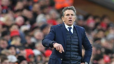 fifa live scores -                               Puel: Pressure all on Chelsea