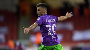 Jamie Paterson could return for Bristol City