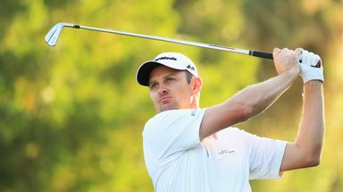 Justin Rose leads by three shots at the weather-affected Indonesian Masters