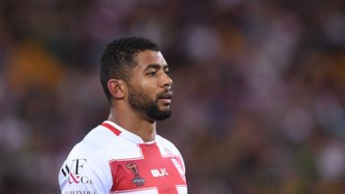 Kallum Watkins's break gave England a brief moment of hope in the final