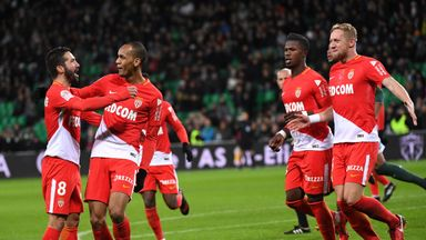 Fabinho fired in Monaco's third goal
