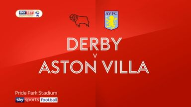 Derby 2-0 Aston Villa