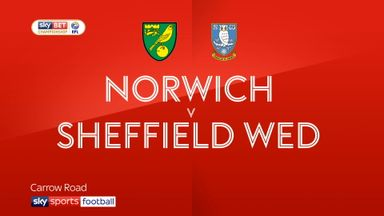 Norwich 3-1 Sheff Wed