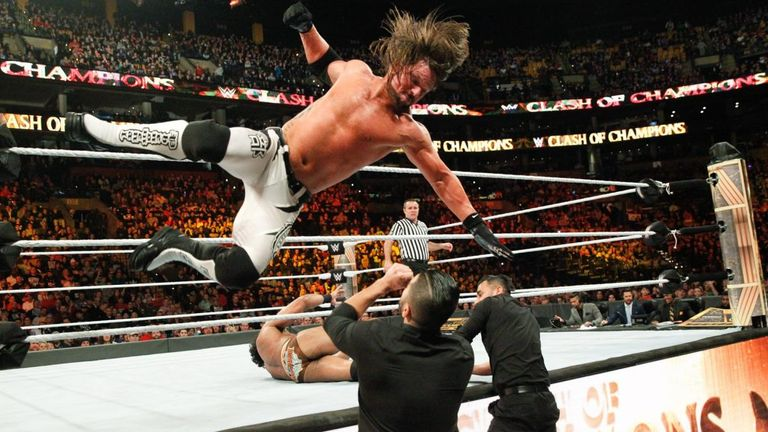 AJ Styles was at his brilliant best at Clash of Champions