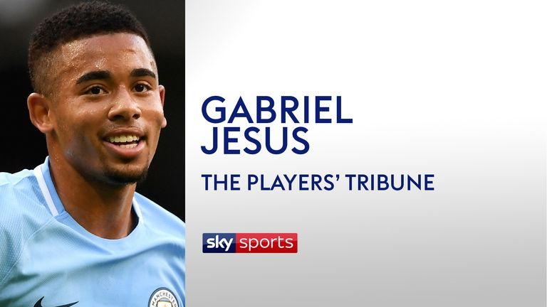 Gabriel Jesus for The Players' Tribune
