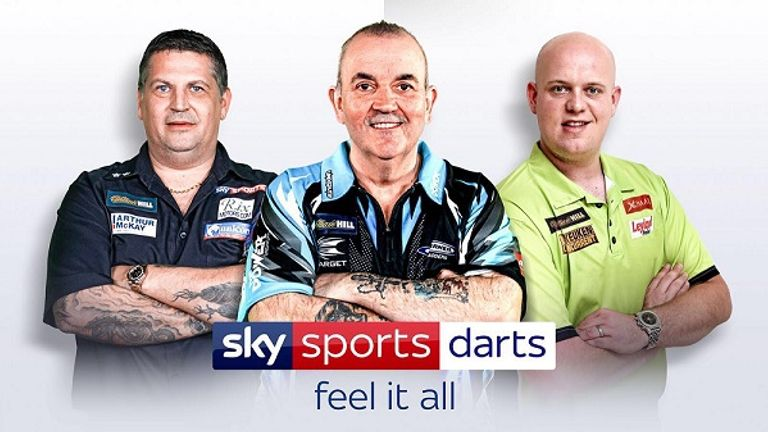 Sky Sports Darts 2018 Logo