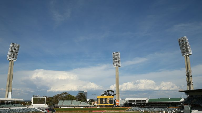 PERTH, AUSTRALIA - NOVEMBER 16: A genral view of play during day four of the Sheffield Shield match between Western Australia and South Australia at WACA o