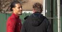 WATCH: Van Dijk trains with Reds