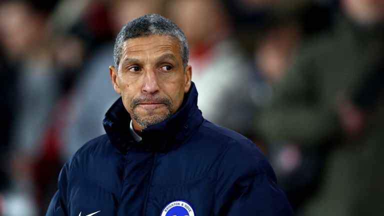 Chris Hughton says Stoke have changed their style under Paul Lambert