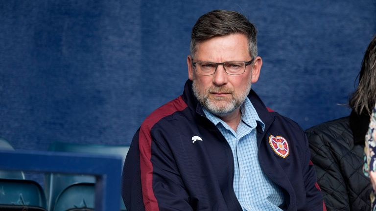 Craig Levein's Hearts side are unbeaten in 11 matches