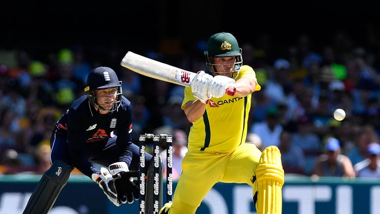 Aaron Finch's form has been one of the few positives for Australia in the ODI series against England
