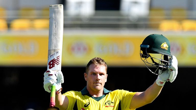 Aaron Finch showed his second century of the series, again in a losing cause