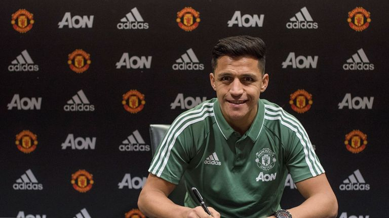 Alexis Sanchez says Manchester United are the biggest club
