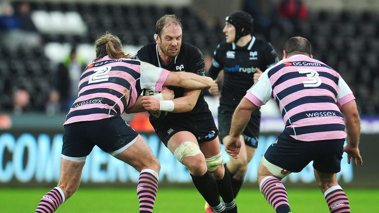Ospreys had won just two PRO14 matches this season priot to this home victory