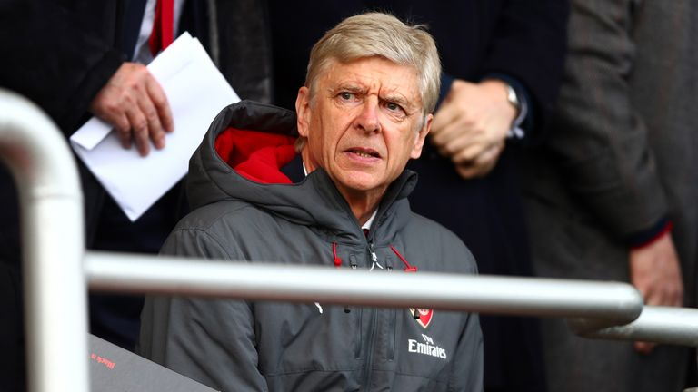Arsene Wenger's Arsenal desperately need a win to keep in touch with the top four