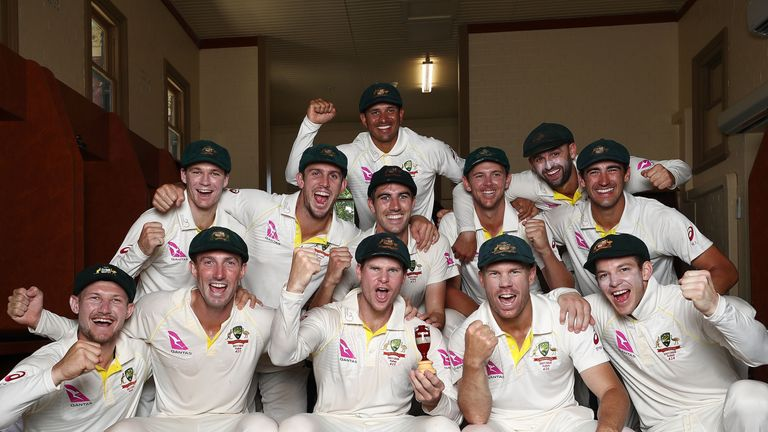 Australia's 4-0 series win drew in combined crowds of 867,000 over five Tests